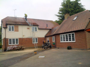 roof tiles cleaned market harborough