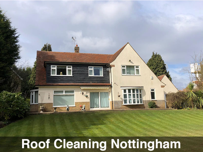 Roof Cleaning Nottingham