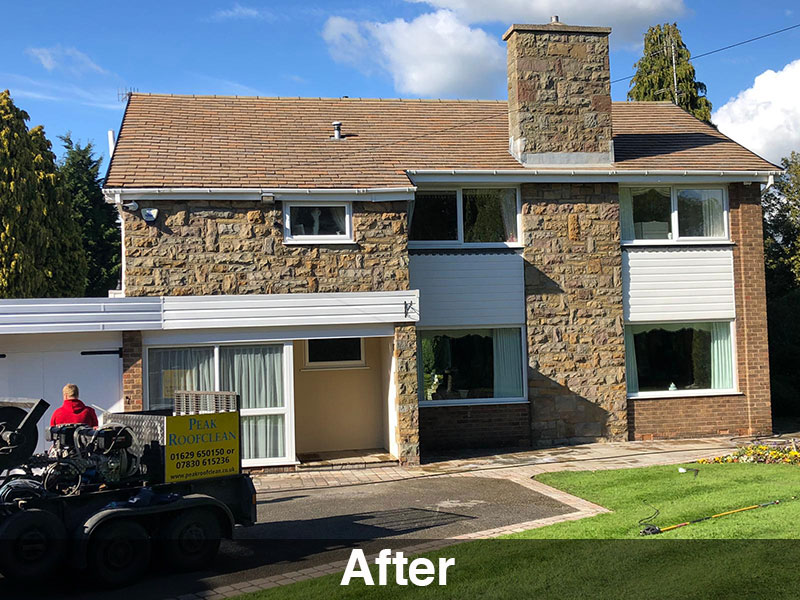 roof cleaning chesterfield