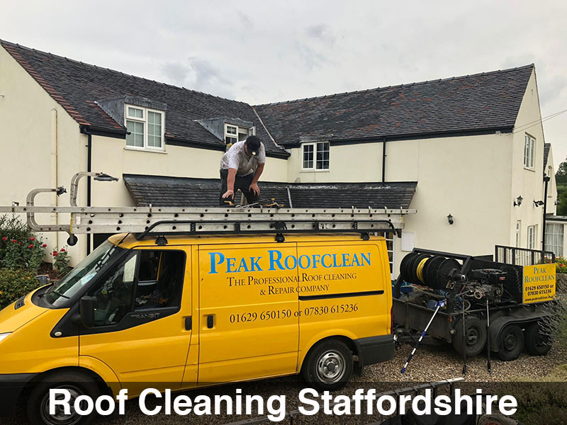 Roof Cleaning Staffordshire Remove Mosses Amp Lichens