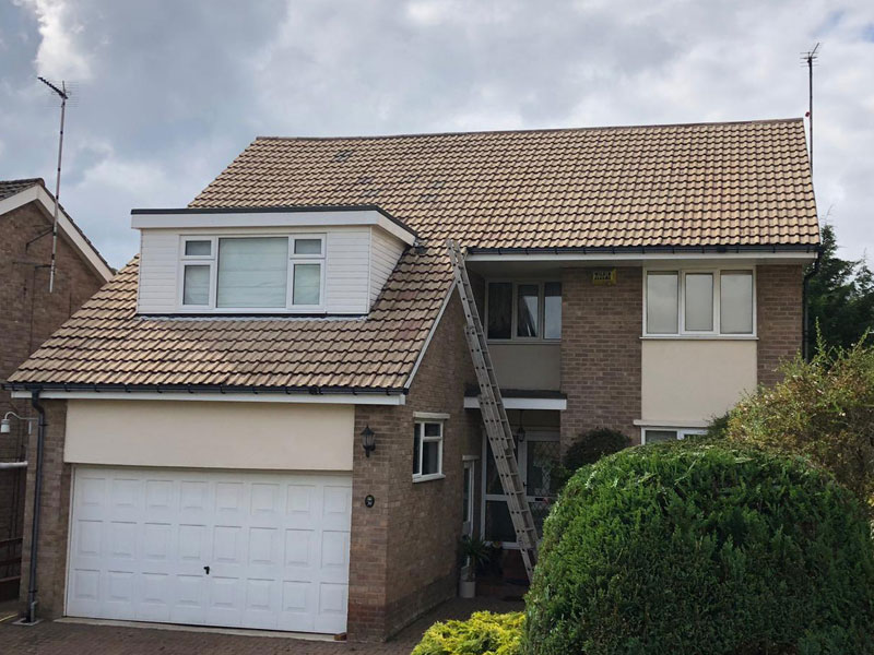 Roof Cleaned in Sheffield