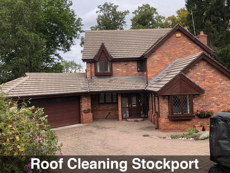 Roof Cleaning Stockport